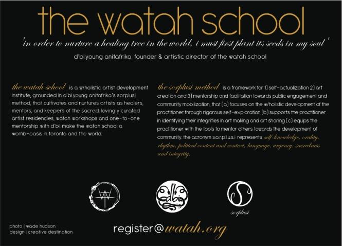 watah school inwards back of card