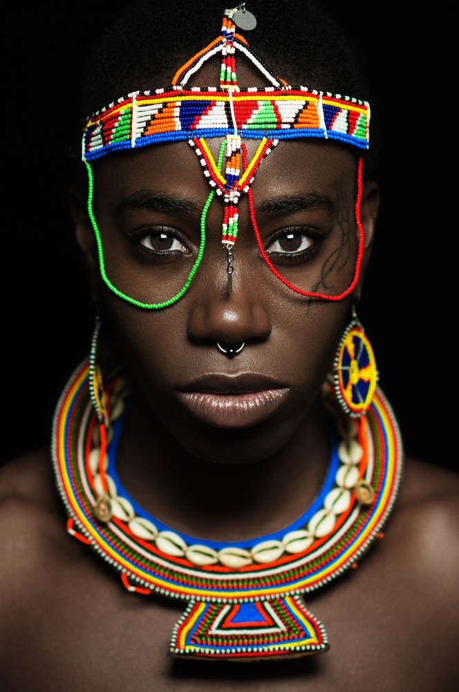 d'bi masai warior princess by wade hudson high res